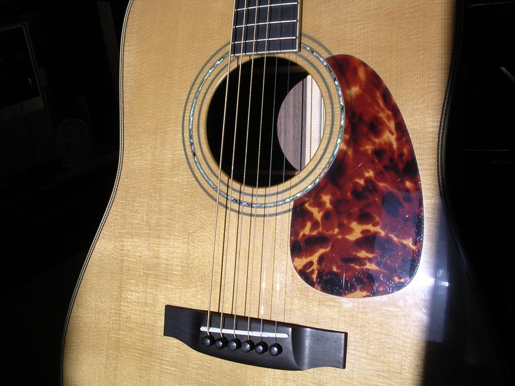 pickguard guitare manouche